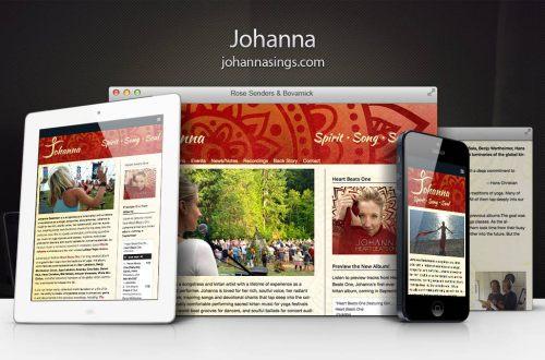 Johanna Responsive Showcase
