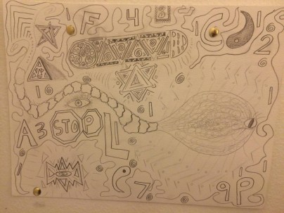 World religions class. I think I channeled the DMT my teacher talked about more than religion