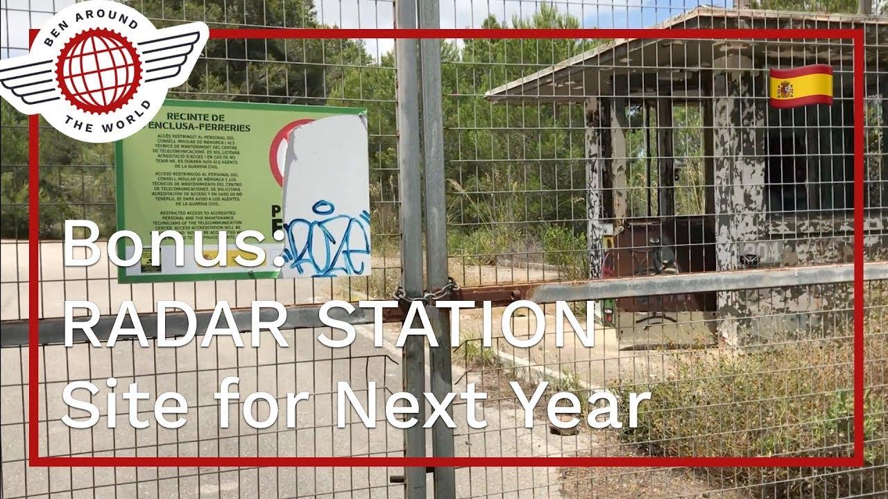 Menorca Bonus: RADAR Station Flying Site for Next Year