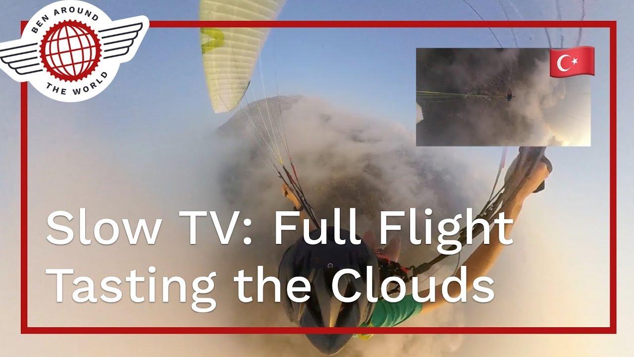 SlowTV: Oludeniz Full Cloud Flight