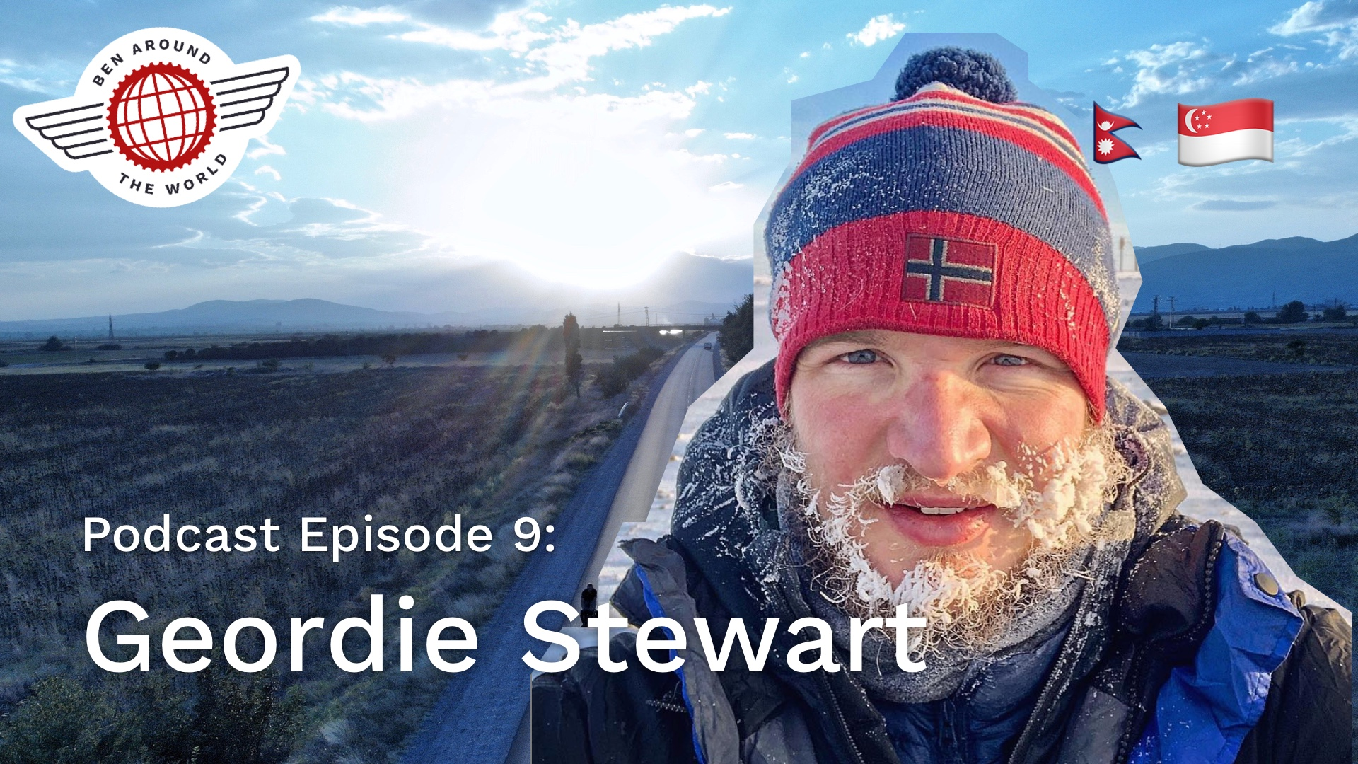 Chat with Geordie Stewart – In Search Of Sisu – Ben Around the World: Episode 9