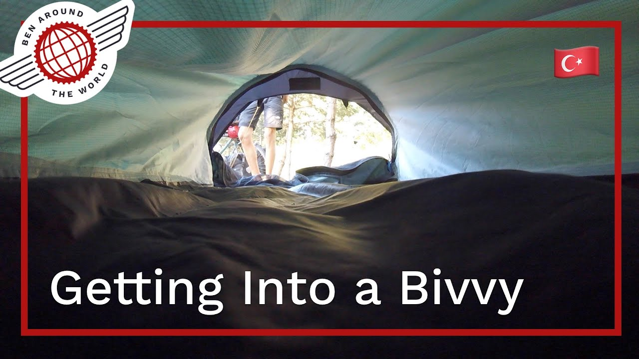 How to Get Into a Bivvy Bag?