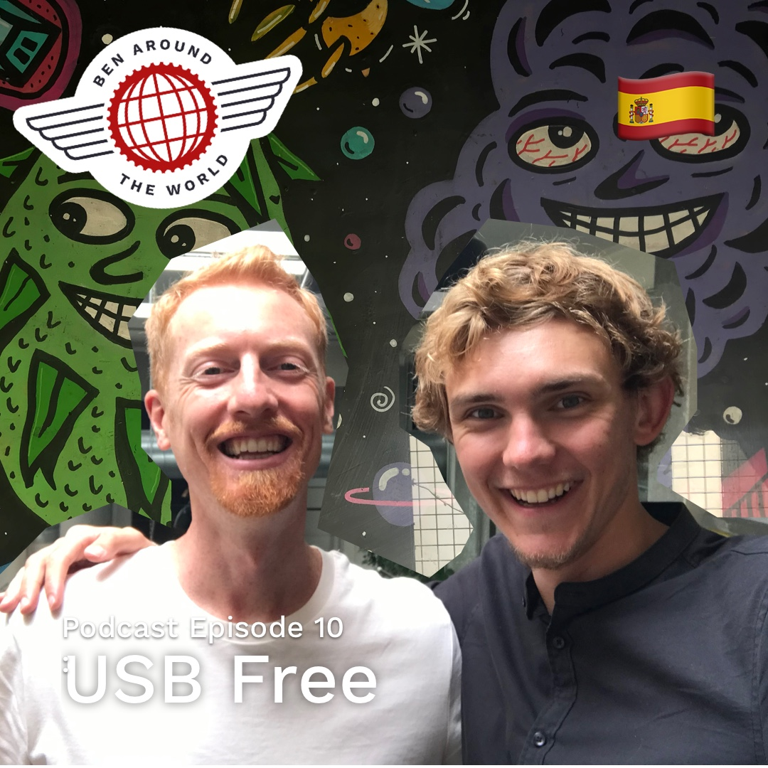 USB Free – Ben Around the World Podcast: Episode 10