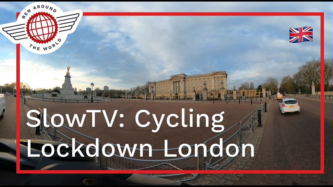 SlowTV: Full Hour Cycle Around Lockdown London