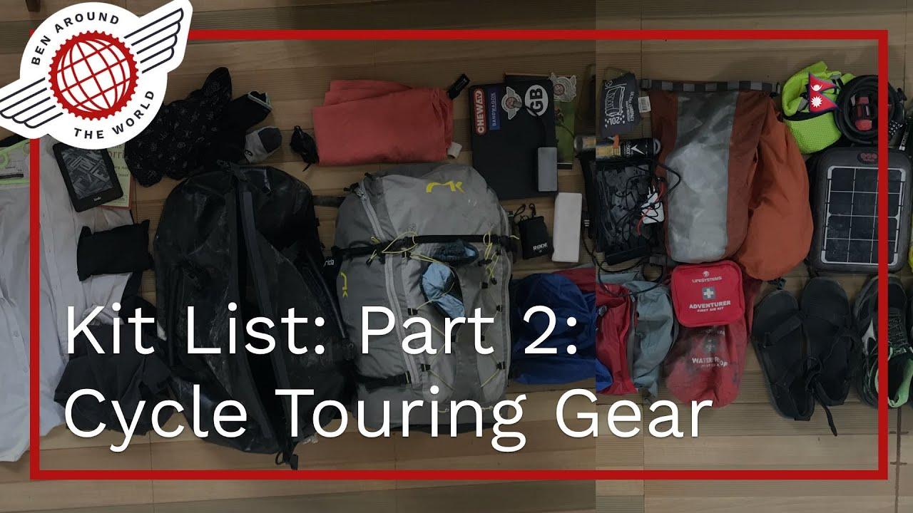 Bikepacking vs Cycle Touring – Kit List: Part 2