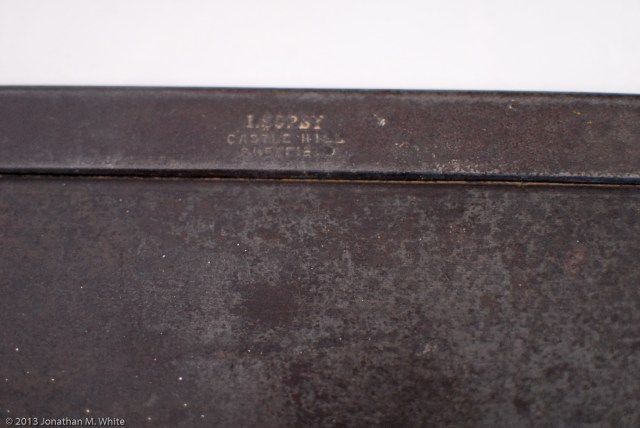 """I. Sorby 14"""" Tenon Saw in as purchased condition and before any restoration work."""
