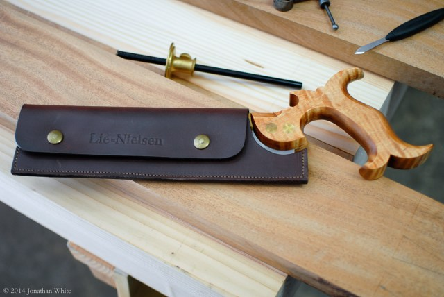 My Lie-Nielsen Dovetail Saw.
