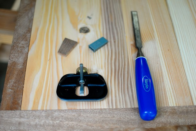 I deepened the recess in between the dovetails to allow the patch to be a little thicker.