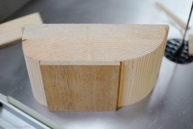 The rough cut sample.