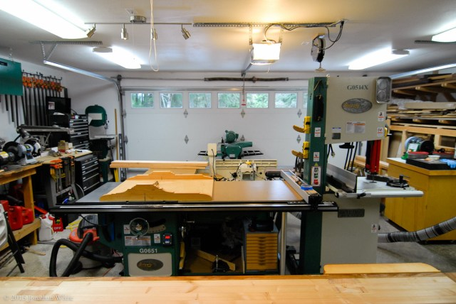 My shop after a recent reorganization.