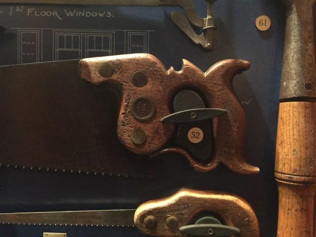 A nice old saw handle.