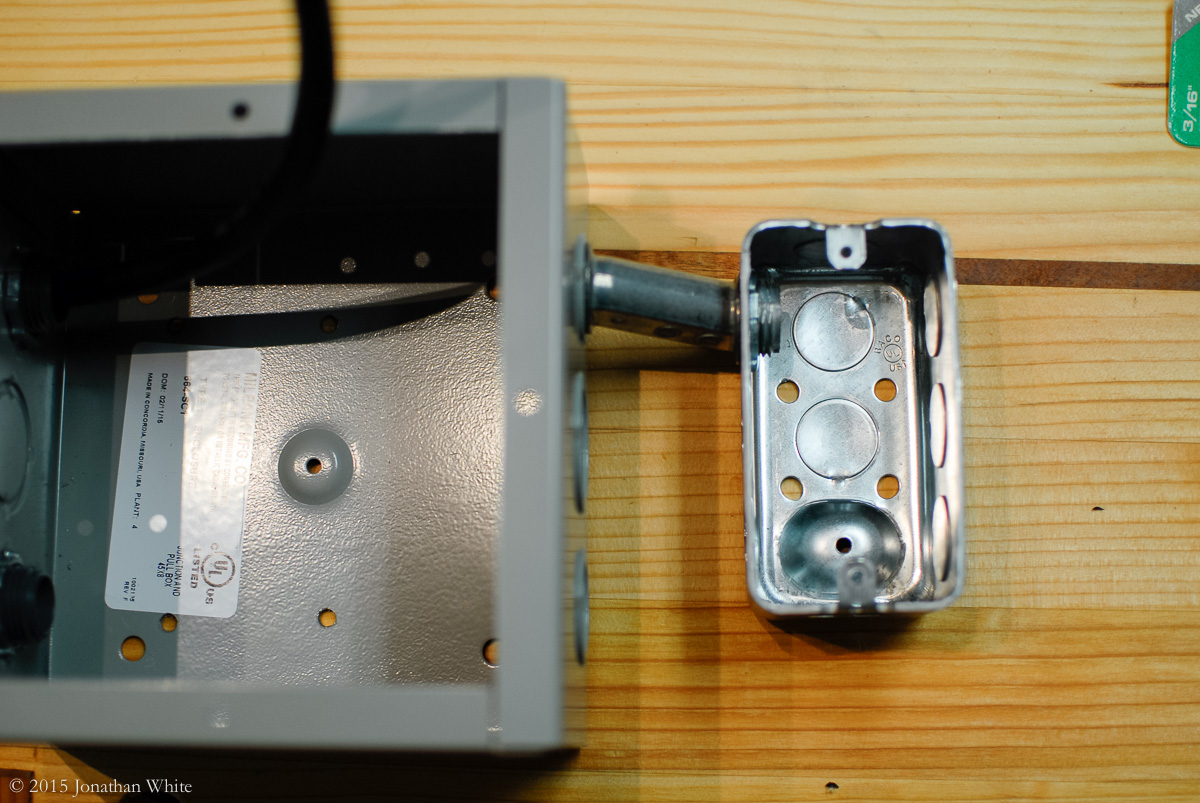 How To Set Up A Wireless Remote Control Switch For Your Wood Shop Connecting The Microswitch Handy Board Junction Box And