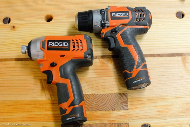 I also tested the OverDrive bits in my smaller drill and impact driver.