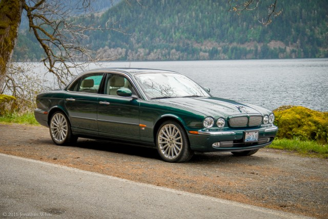 My Jaguar XJR. 4.2L Supercharged V8.