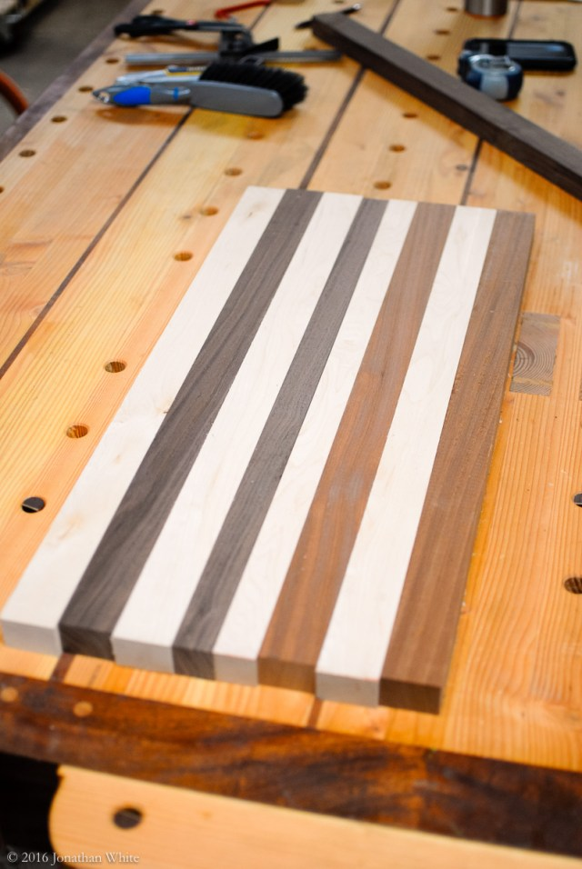 I milled up these strips, about 24 inches long.