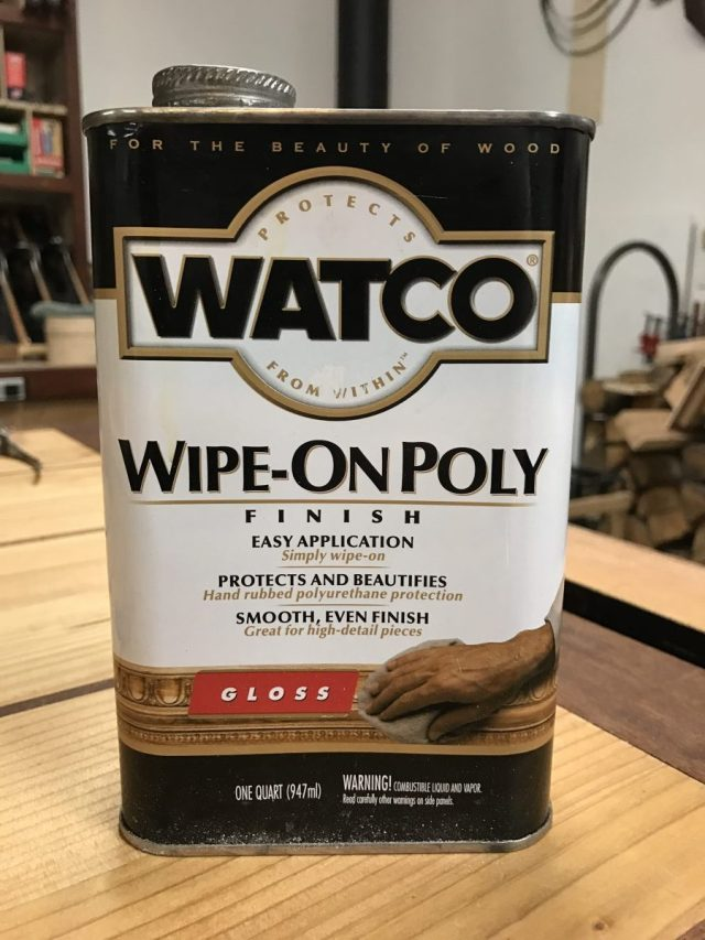 Watco Gloss Wipe-on Poly