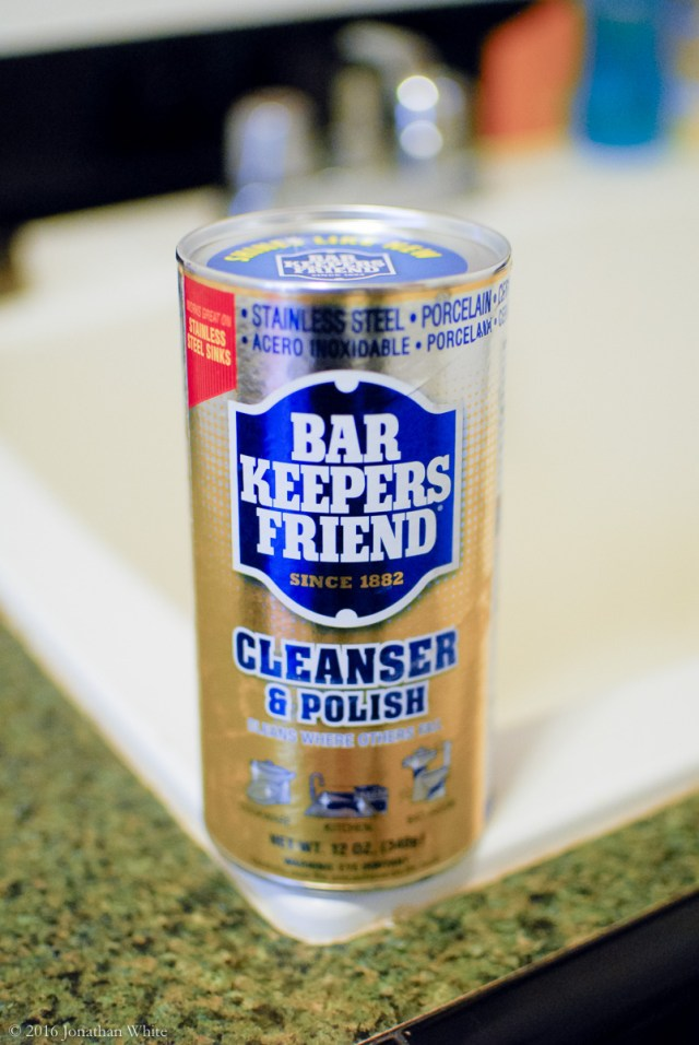 Barkeepers Friend. This stuff cleans brass amazingly.
