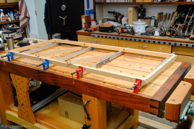 Time for a glue-up.