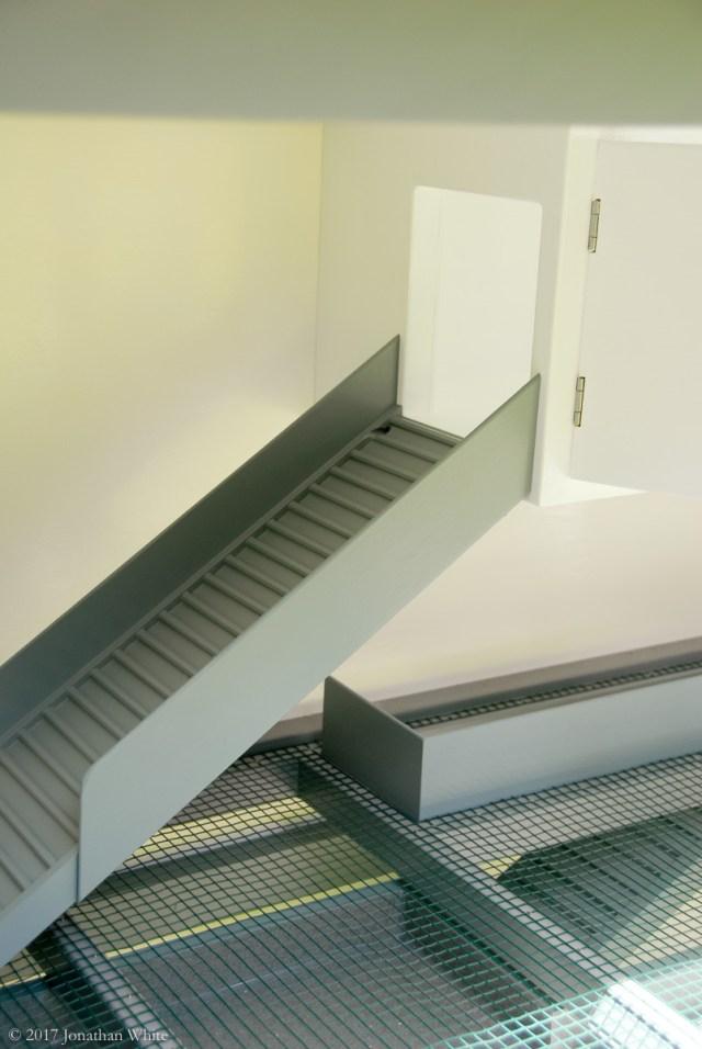 The upper ramp.