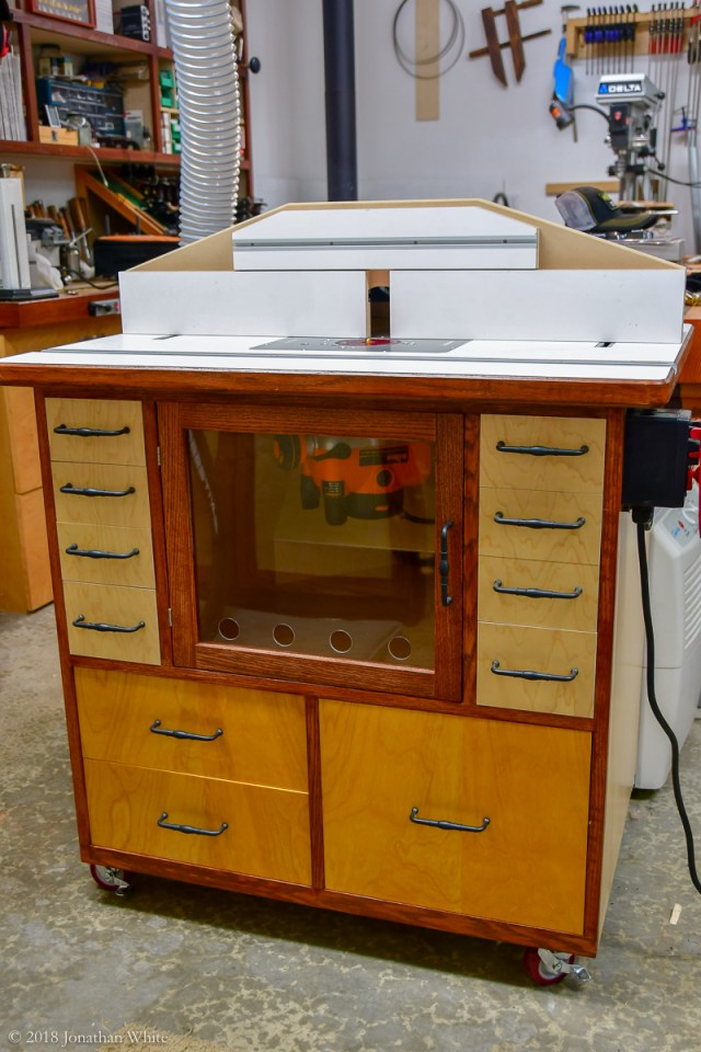 My new router table.