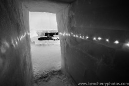 Ice Hotel in monochrome-3