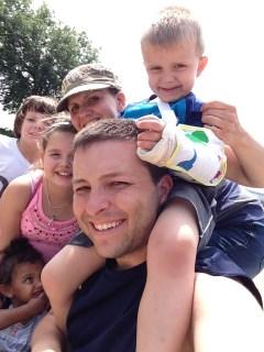 Chilcote Family circa 2014