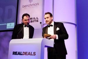 James Thornton award presentation
