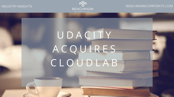 Udacity Acquires CloudLab #BenchmarkIntl