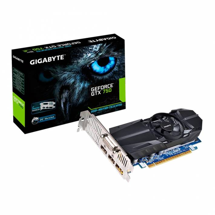 Gigabyte anuncia un nuevo modelo low profile de la GPU NVIDIA GTX 750