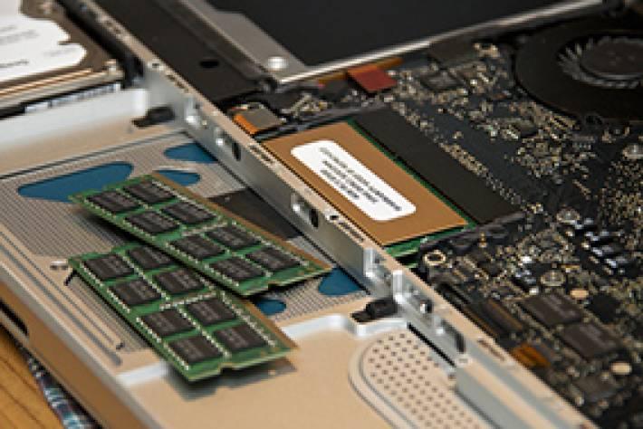 Desplome en las ventas de chip y módulos DRAM