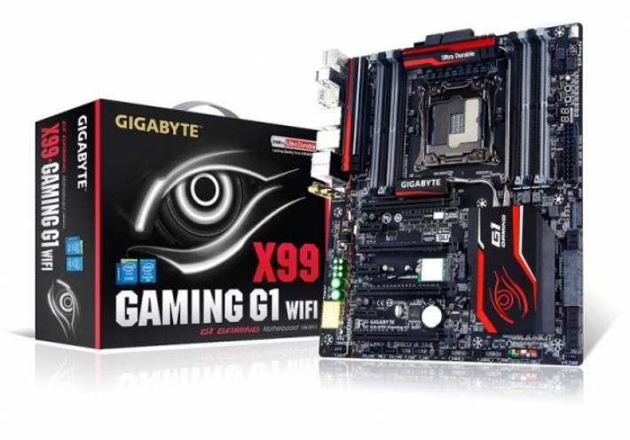 Gigabyte presenta las nuevas placas base Gaming G1 WiFi y Gaming 7 WiFi con chipset X99