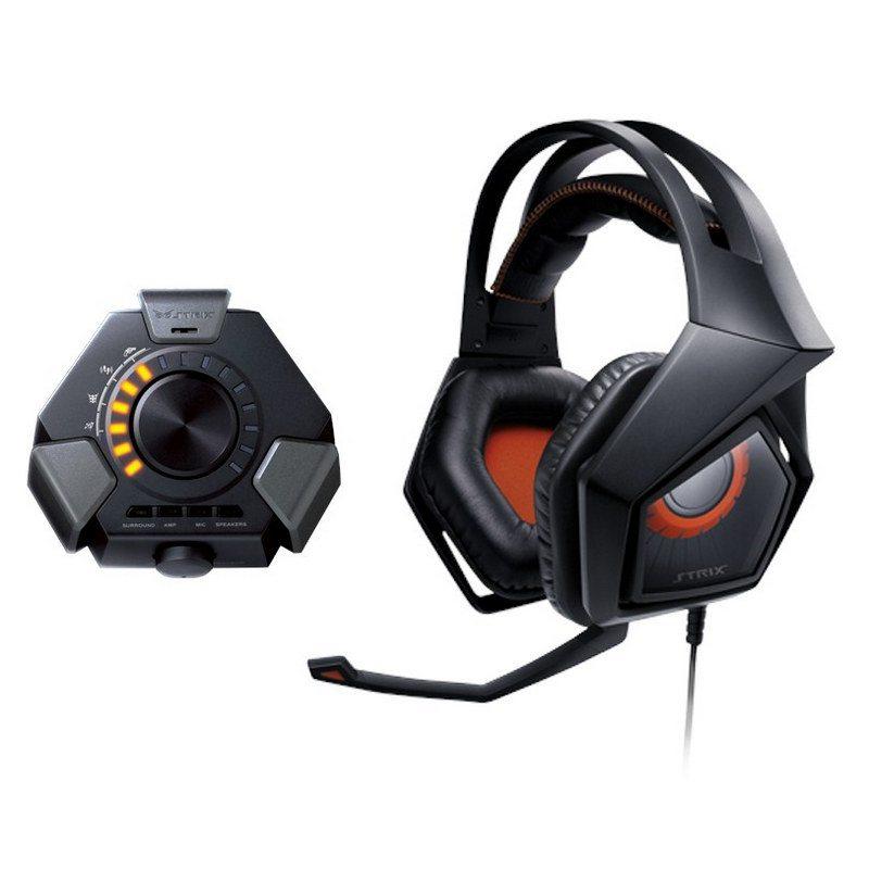 ASUS anuncia el kit de auriculares con micrófono para gaming Strix 7.1 con sonido 7.1 envolvente real