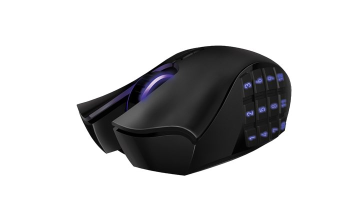 Razer presenta el ratón Naga Epic Chroma Wireless con 19 botones