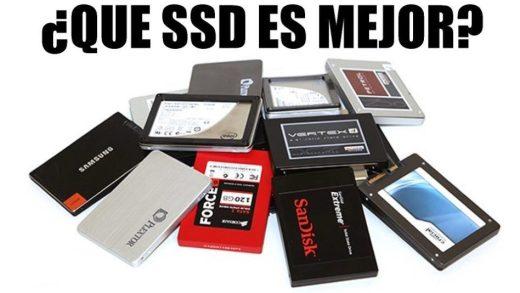Comparativa completa SSD