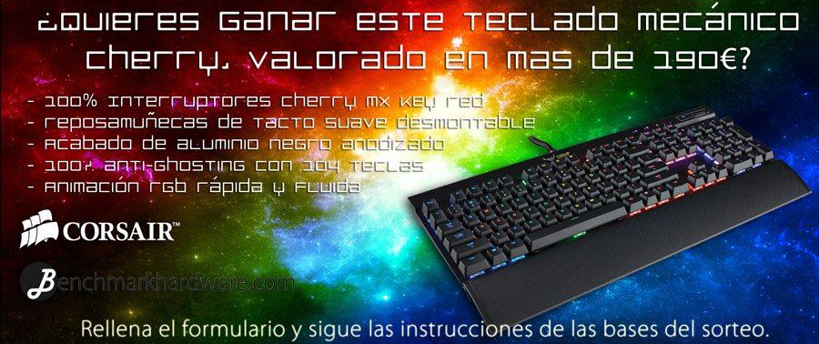 Concurso Teclado Corsair K70 RGB
