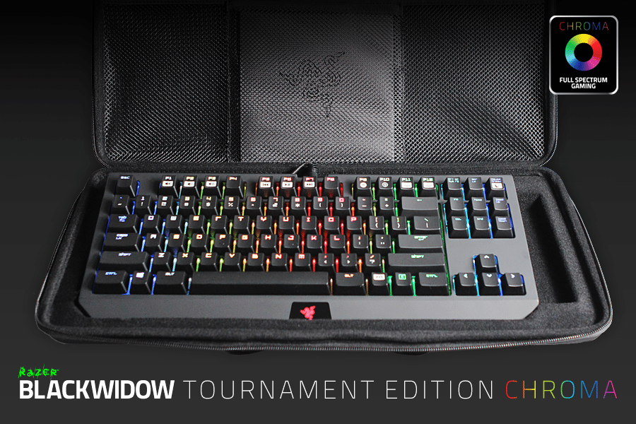 El teclado Razer BlackWidow Tournament Edition Chroma ya está disponible
