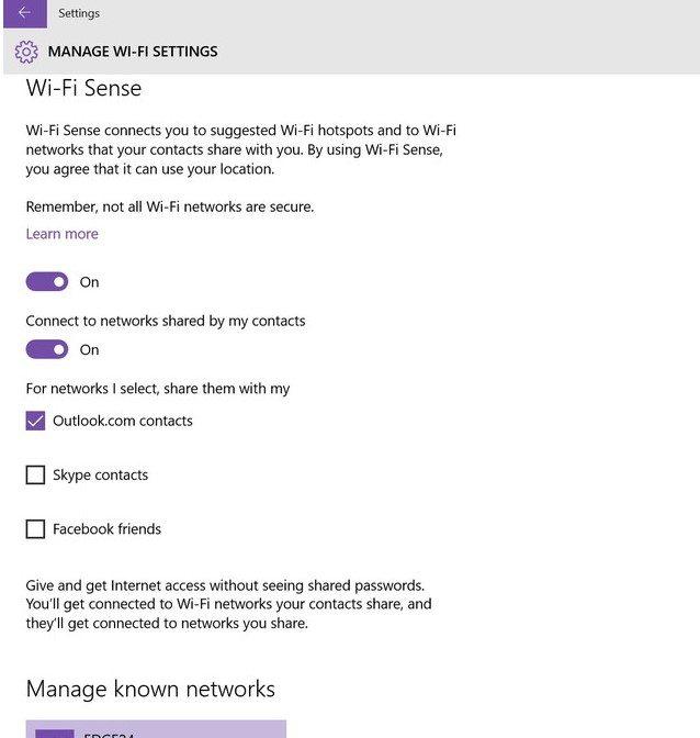 Como evitar que Windows 10 comparta tus claves Wi-Fi - benchmarkhardware 1