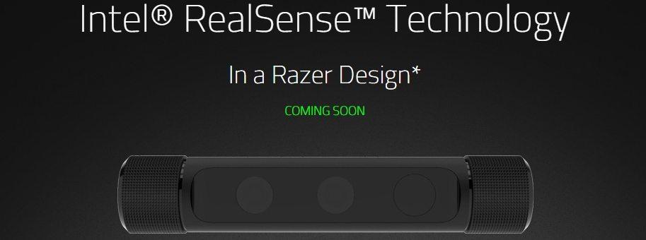 Razer e Intel traen la cámara REALSENSE