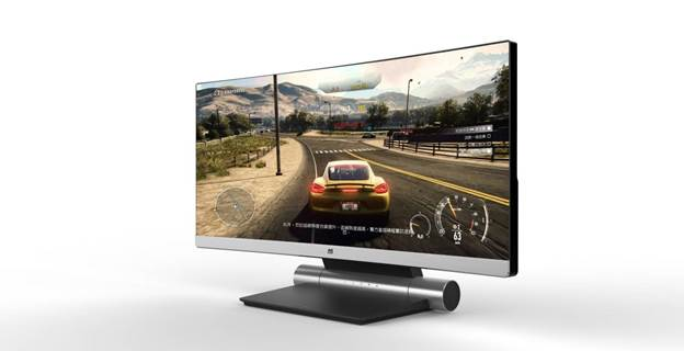 "ViewSonic muestra en exclusiva el monitor curvo QHD Freesync de 34"" - benchmarkhardware 1"