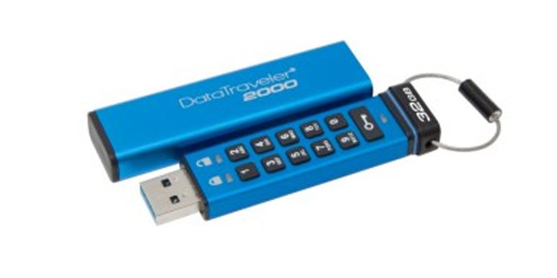 Kingston Digital lanza un USB encriptado con teclado