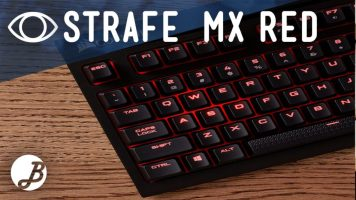Corsair Strafe teclado mecánico Cherry MX RED – Análisis