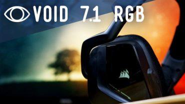 Corsair VOID RGB 7.1  – Análisis