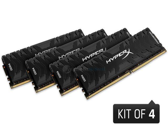 Kingston renueva su gama HyperX Predator de memorias RAM