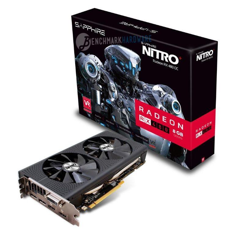 Sapphire anuncia sus modelos Nitro+ para la RX 480