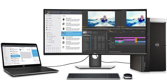 Dell presenta UltraSharp U3417W, su monitor más curvo hasta la fecha