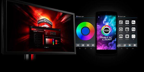 MSI Mystic Light, un programa para sincronizar tus dispositivos RGB