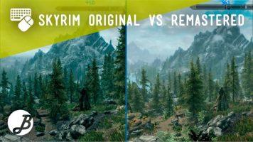 Comparativa Gráfica Skyrim original vs Special Edition