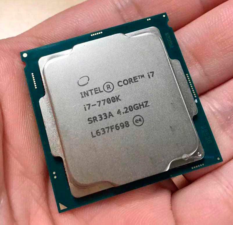 Se filtran benchmarks del Intel i7-7700k, alcanza los 5 GHz