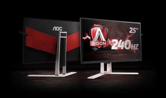 El monitor para gaming AOC AGON 240 Hz ya está disponible