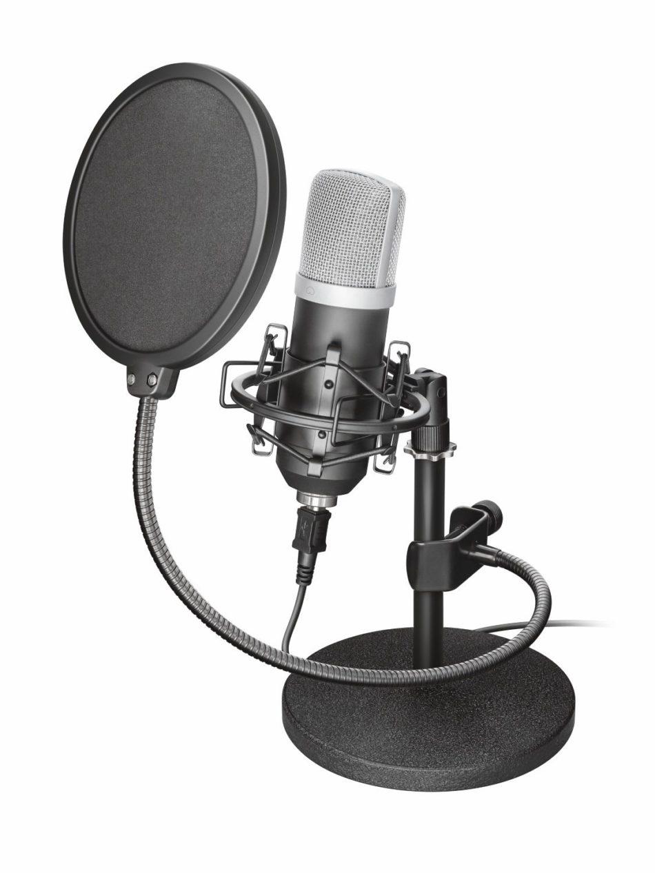 Trust Emita USB Studio, un microfono de audio profesional a bajo coste